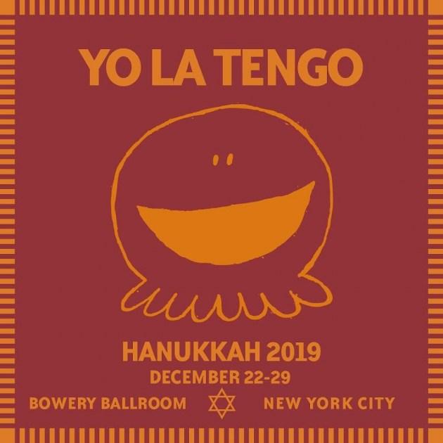 Yo La Tengo Hanukkah 2019 shows