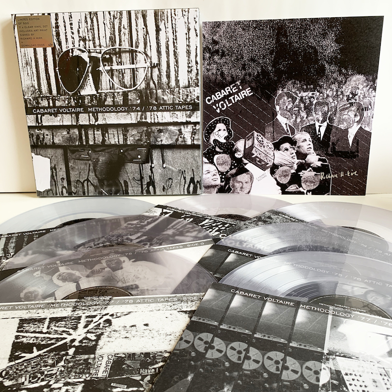 Cabaret Voltaire Methodology vinyl reissue