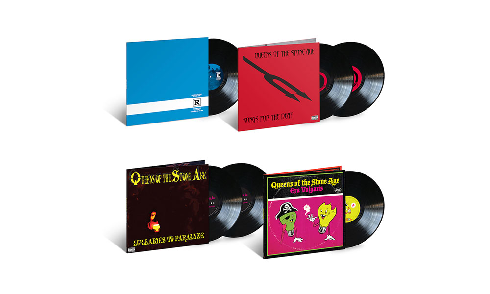 Queens of the Stone Age vinyl reissues