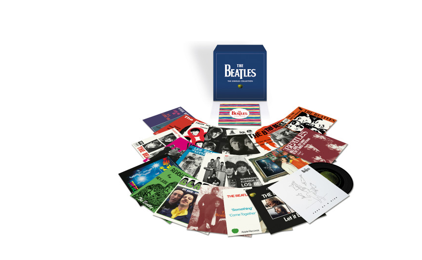 Beatles singles box set