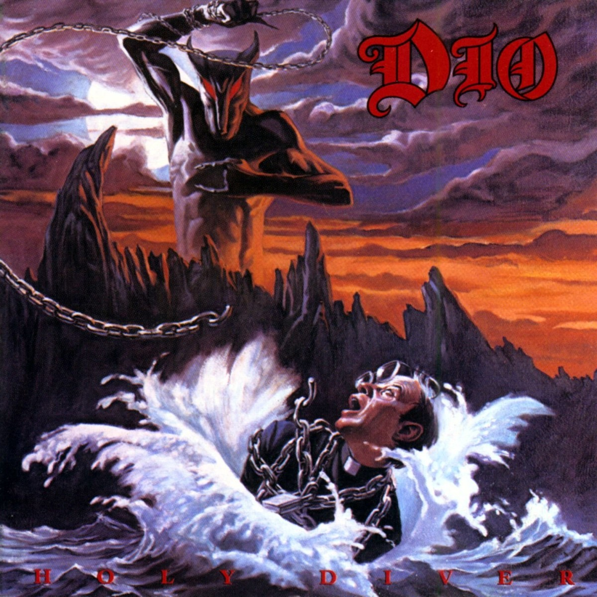 heavy metal halloween Holy Diver