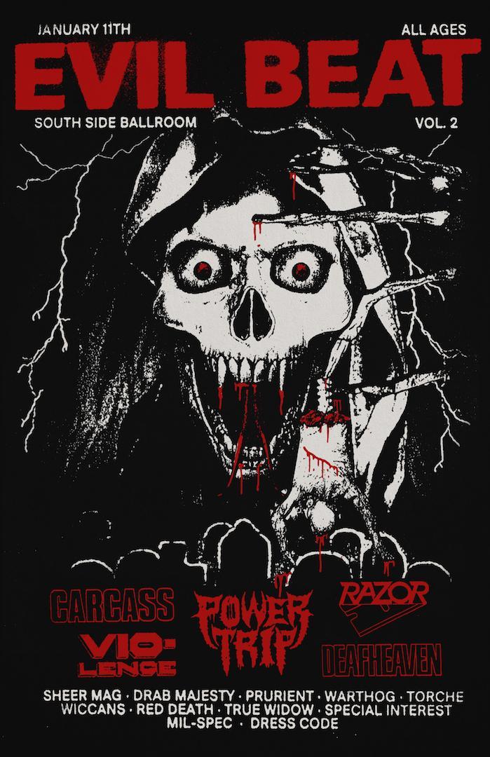 Evil Beat festival lineup 2020