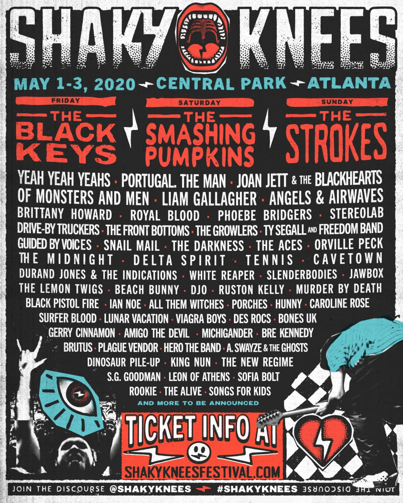 Shaky Knees festival 2020