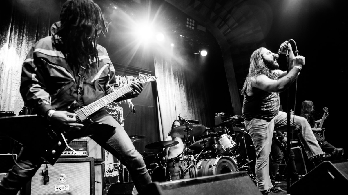 Creeping Death live at the Regent Theater in Los Angeles