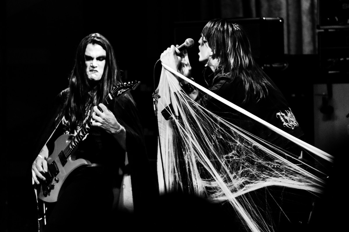 Devil Master live at the Regent Theater in Los Angeles