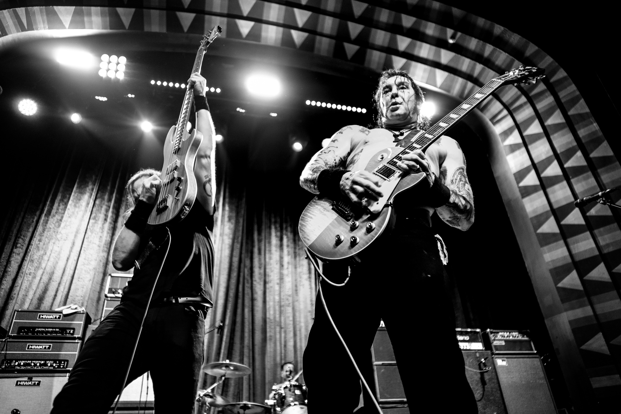 High on Fire live at the Regent Theater in Los Angeles