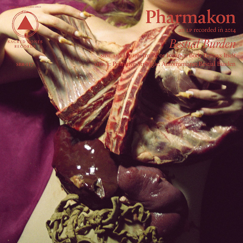Pharmakon Bestial Burden Blood on the Tracks