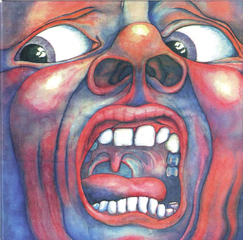 King Crimson in the Court of the Crimson King progressive rock