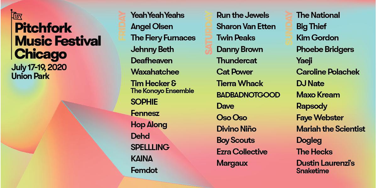 Pitchfork Fest 2020