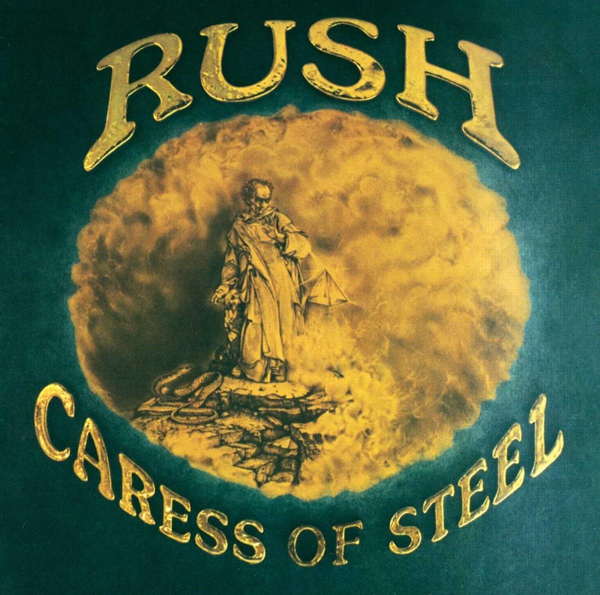 Rush catalog Caress of Steel
