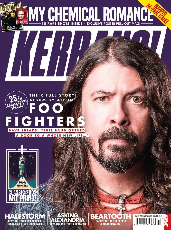 Kerrang suspends publication