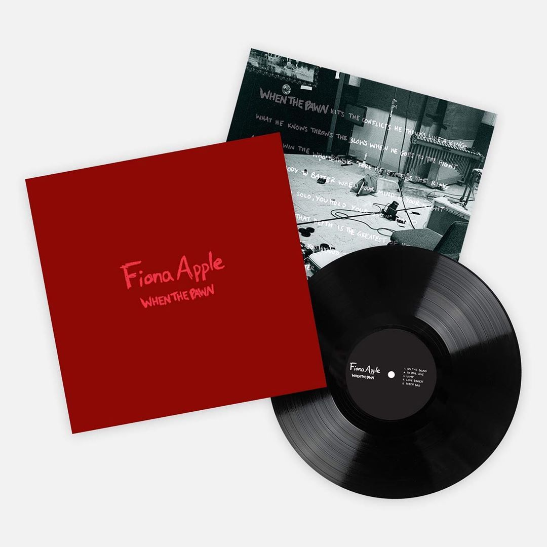 Fiona Apple When the Pawn vinyl reissue
