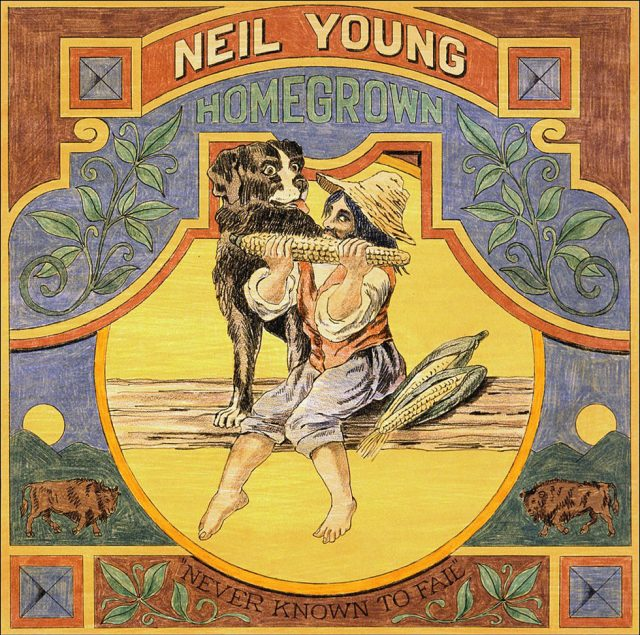 Neil Young new album Homegrown