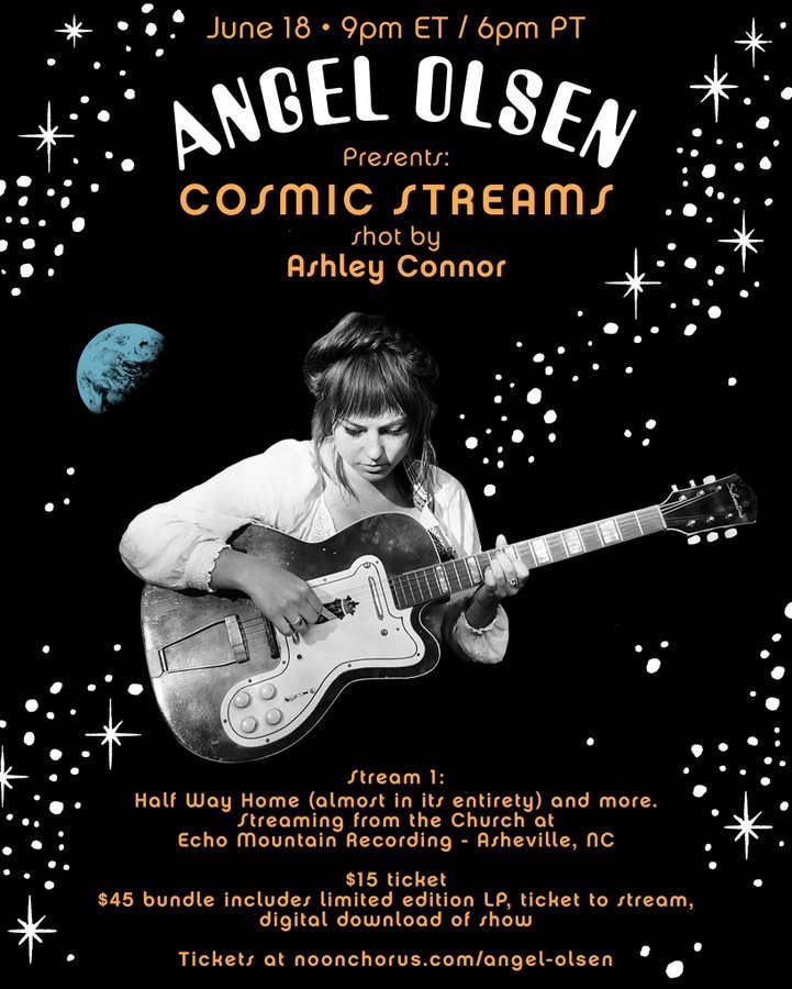 Angel Olsen Cosmic Streams